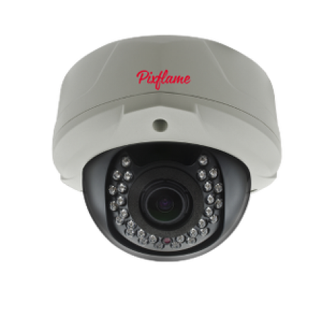 Pixflame Gold 2 MP 2.8-12mm PoE IR Dome IP Kamera